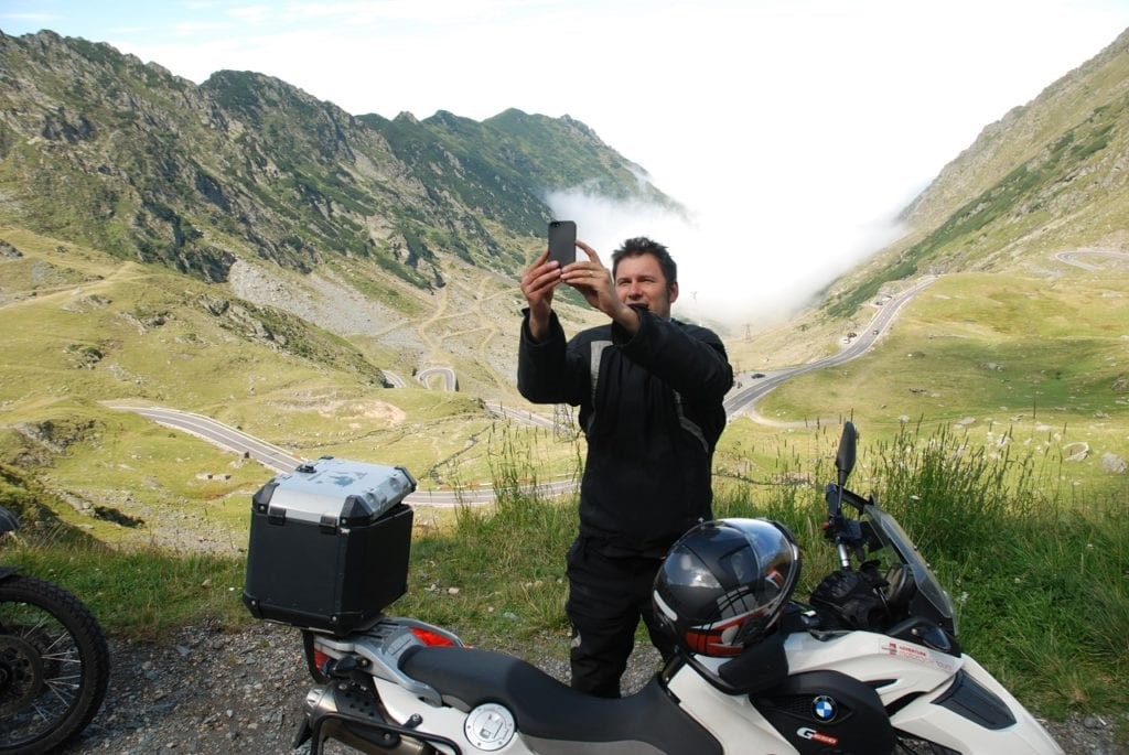 private motorcycle tour europe