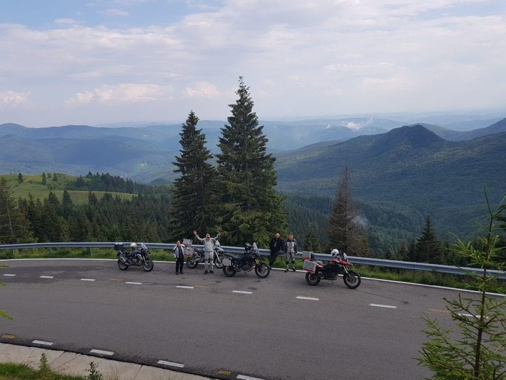 best motorcycle roads romania