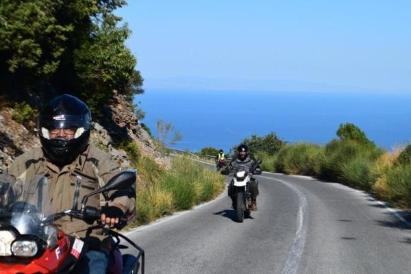 motorcycle tour Greece