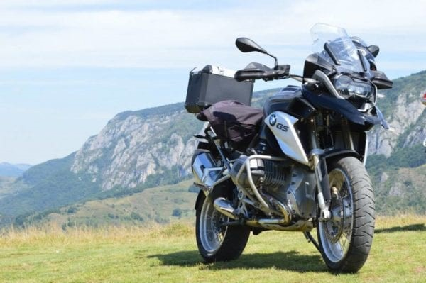 motorcycle touring Romania