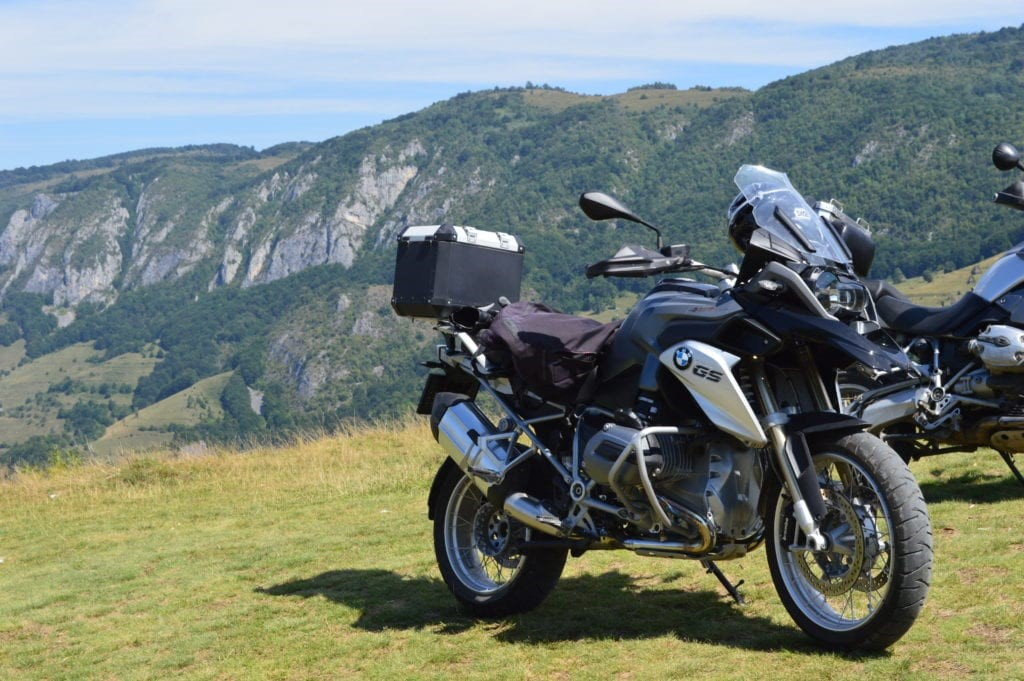 best motorcycle roads Romania