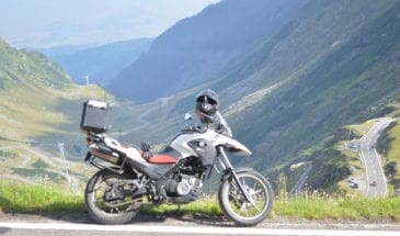 BMW motorcycle rental europe