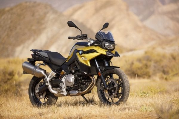 BMW F 750 GS motorcycle rental Romania