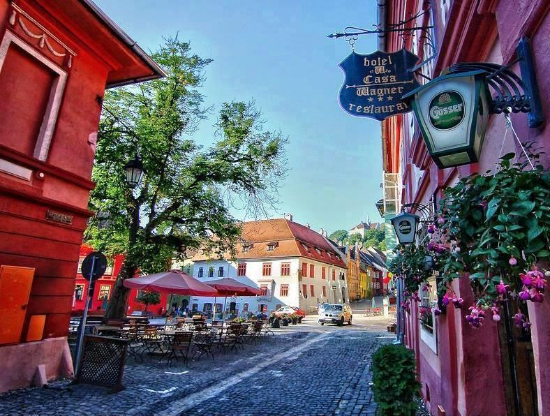 where to stay motorcycle tours Sighisoara
