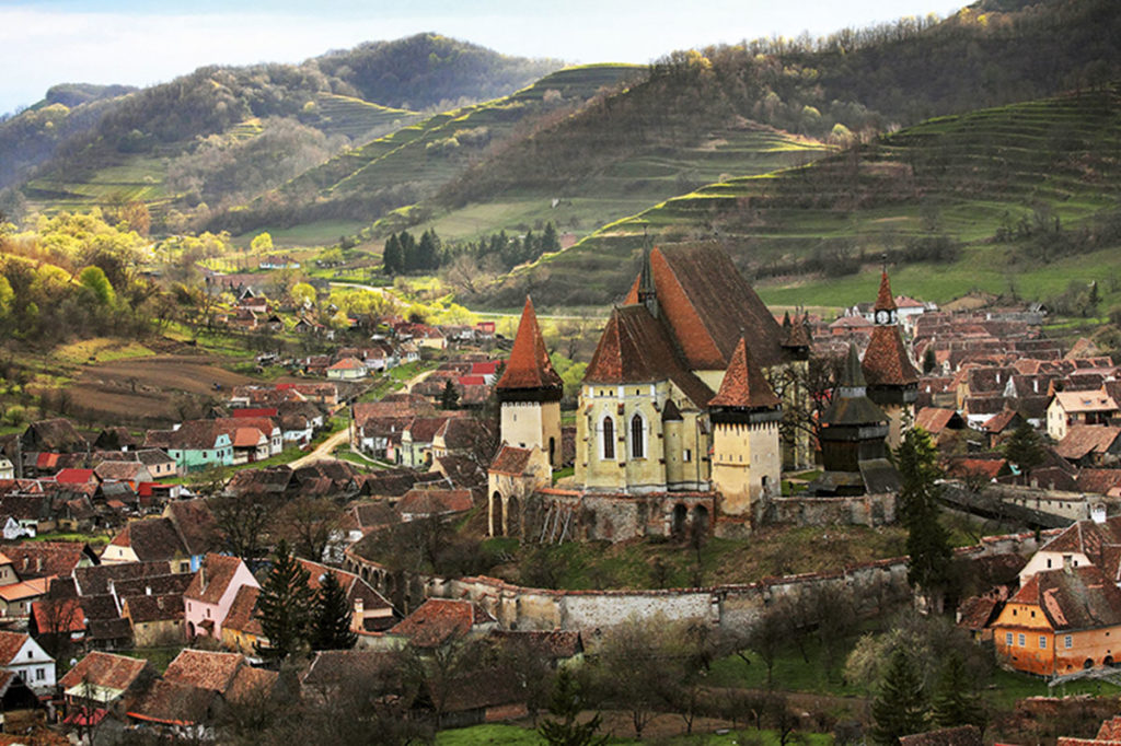 Best of Transylvania-Romania motorcycle tours
