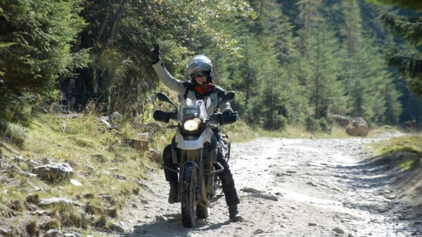 off-road motorcycle tours Romania